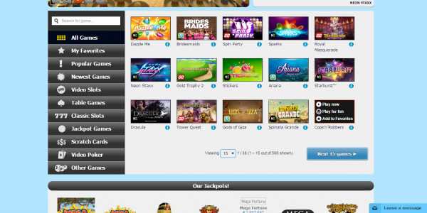 PlayHippo Casino MCPcom games