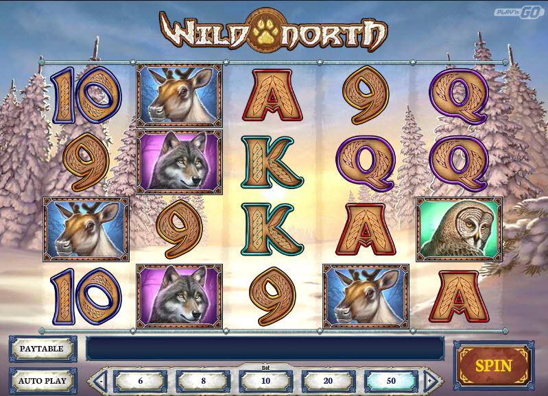 Wild North Video Slots by Play'n GO MCPcom