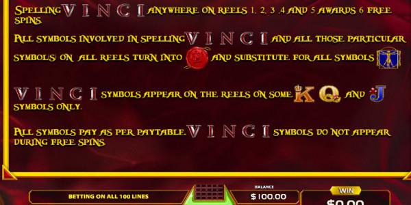Da Vinci Codex Video Slots by GameArt MCPcom pay2