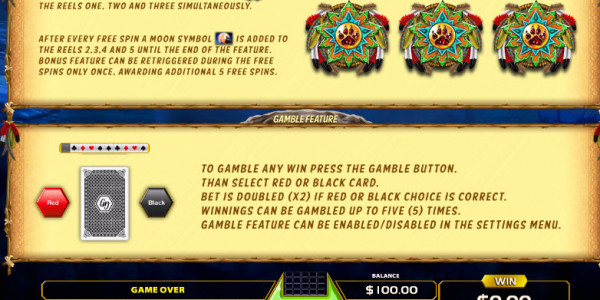 Wolf Quest Video Slots by GameArt MCPcom pay2