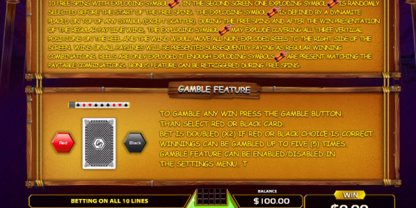 Explosive Reels Video Slots by GameArt MCPcom pay2