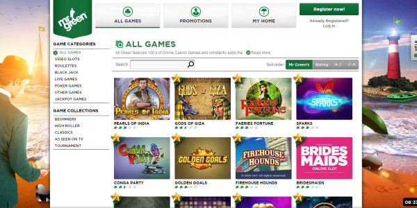 Mr Green Casino MCPcom games2
