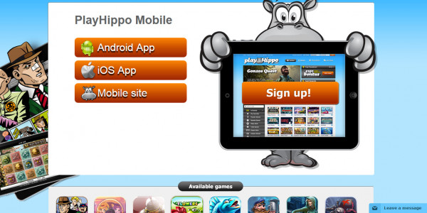 PlayHippo Casino MCPcom mobile