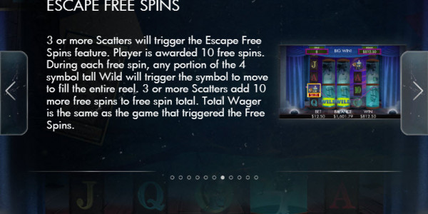 Escape Artist Video slots by Genesis Gaming MCPcom pay2