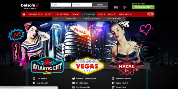 Betsafe Casino MCPcom live