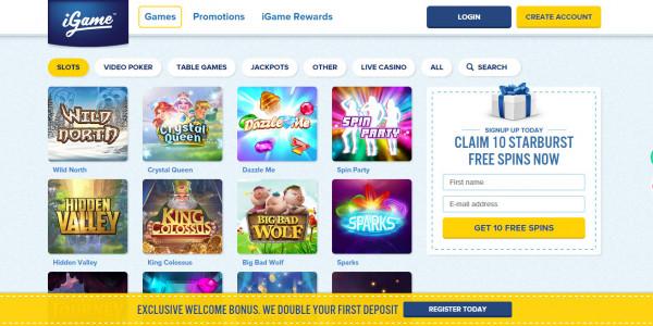 iGame Casino MCPcom