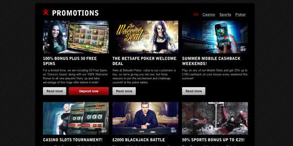 Betsafe Casino MCPcom bonus
