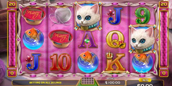 Kitty Twins Video Slots by GameArt MCPcom