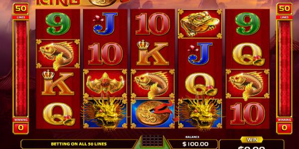 Dragon King Video Slots by GameArt MCPcom