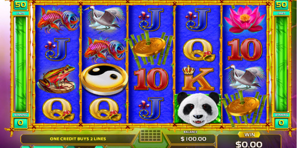 Fortune Panda Video Slots by GameArt MCPcom