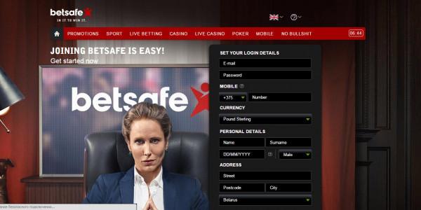 Betsafe Casino MCPcom