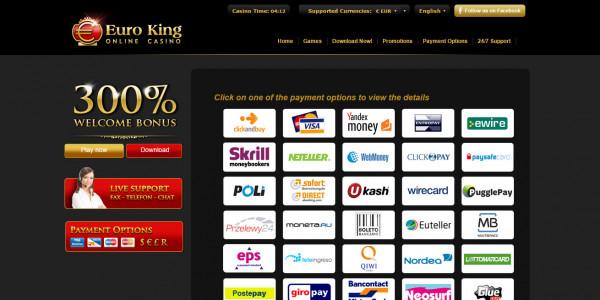 EuroKing Casino MCPcom 5