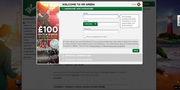 Mr Green Casino MCPcom
