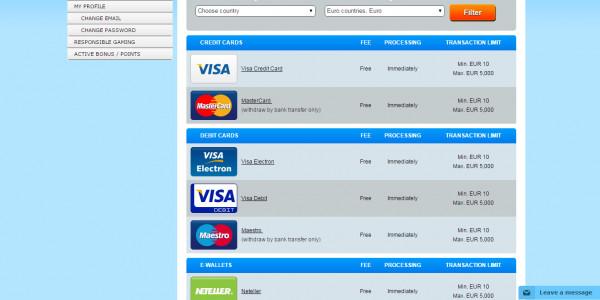 PlayHippo Casino MCPcom bank