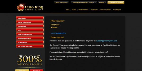 EuroKing Casino MCPcom 6
