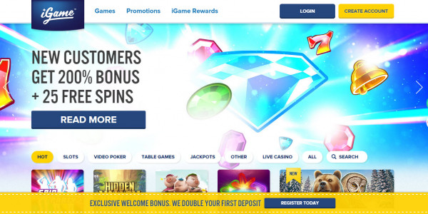 iGame Casino MCPcom home