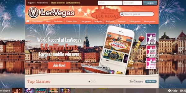 Leo Vegas Casino MCPcom