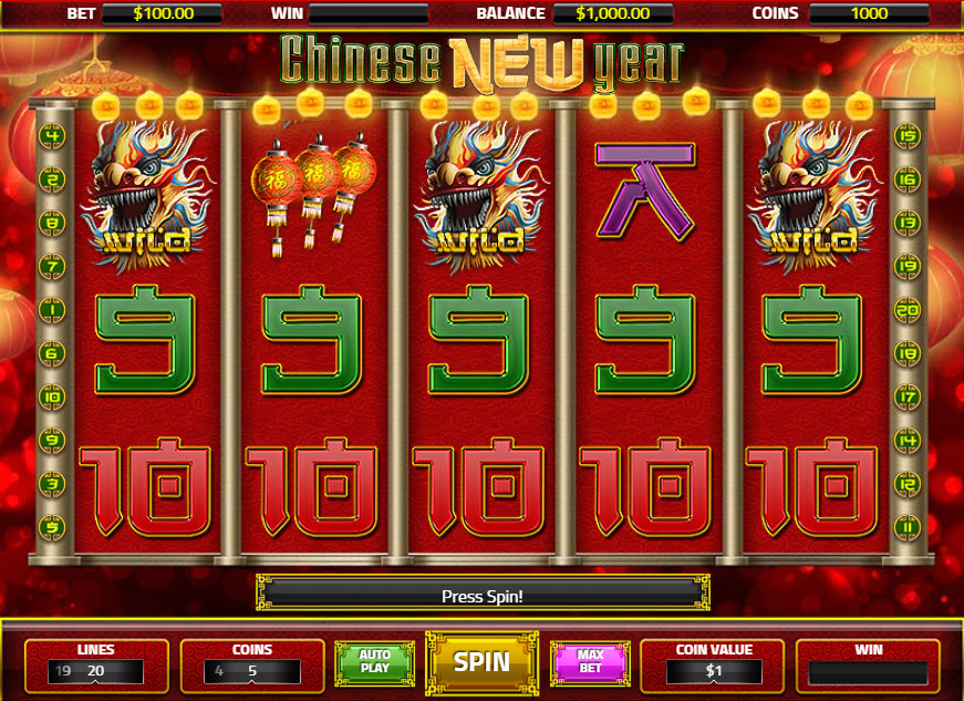 Chinese New Year Novomatic MCPcom