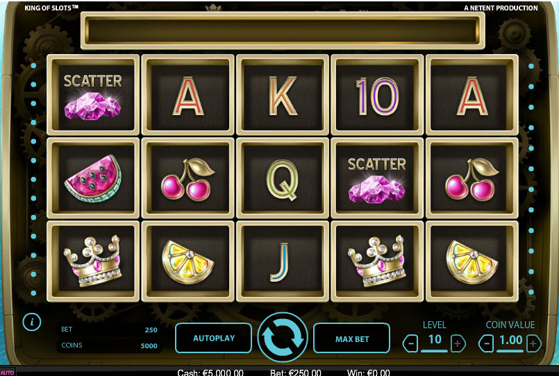King Of Slots Netent MCPcom