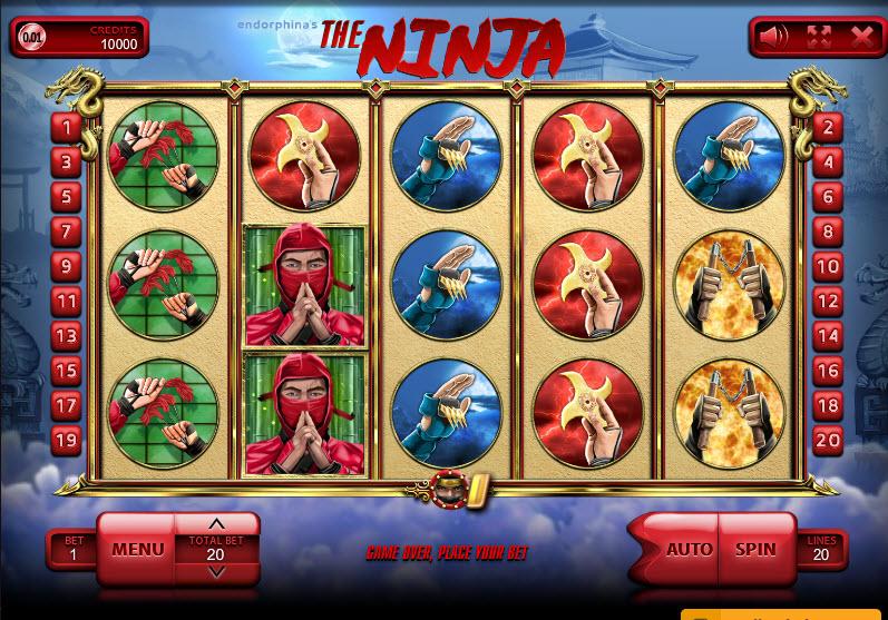 The Ninja Video Slots by Endorphina MCPcom