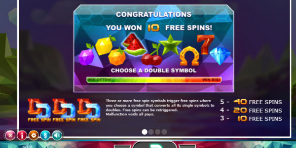 Doubles Video Slots by Yggdrasil Gaming MCPcom pay