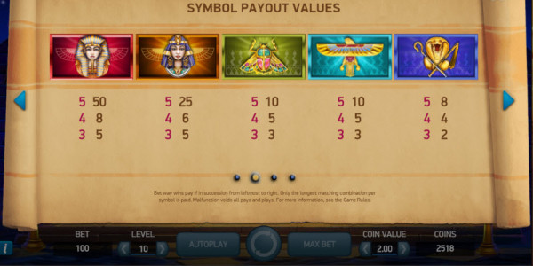 Pyramid: Quest for immortality Video Slot by Netent MCPcom pay