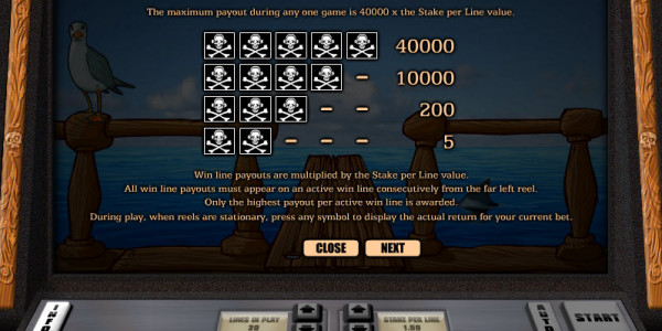 Pirate Radio Video Slots by Realistic Games MCPcom pay