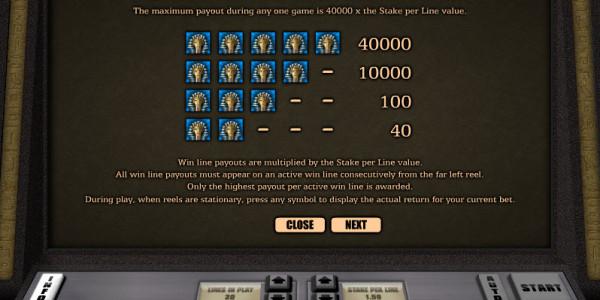 Tutankhamun Video Slots by Realistic Games MCPcom pay