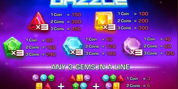 Diamond Dazzle Classic slots by Rival MCPcom pay