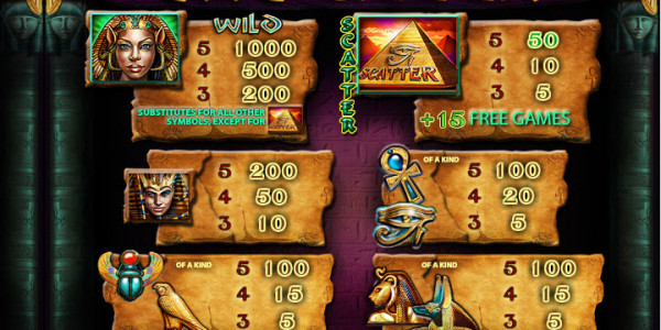 Cat Queen Video Slots by Playtech MCPcom pay