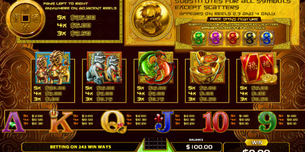 Power Dragon Video Slots by GameArt MCPcom pay