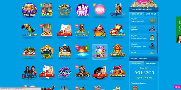 Vera John Casino MCPcom games