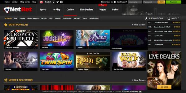 NetBet Casino MCPcom 2