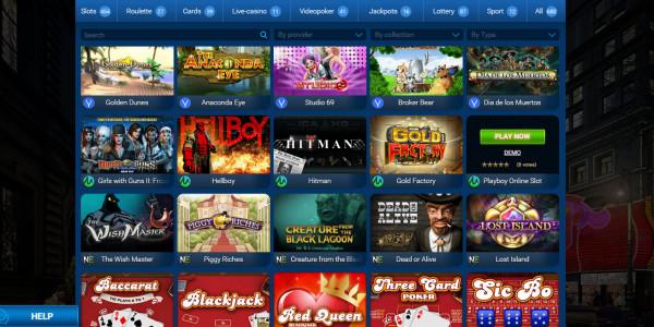 Sin City Casino MCPcom games