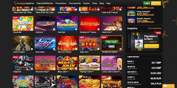 Energy Casino MCPcom
