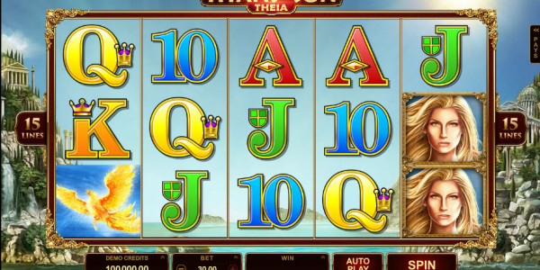 Titans of the Sun — Theia Video slots by Microgaming MCPcom