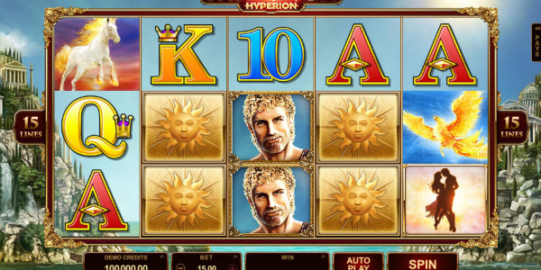 Titans of the Sun — Hyperion Video slots by Microgaming MCPcom