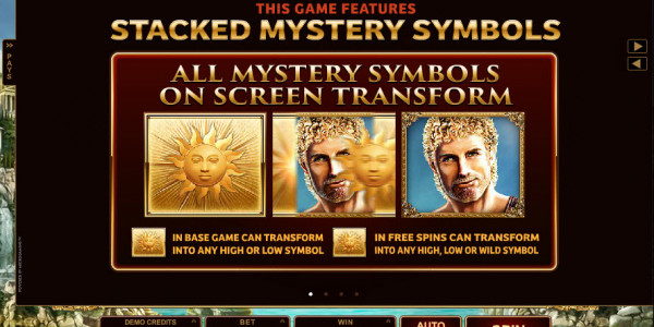 Titans of the Sun — Hyperion Video slots by Microgaming MCPcom pay