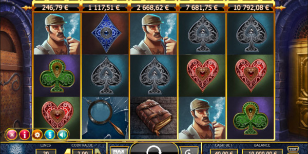 Holmes & the Stolen Stones Video Slots by Yggdrasil Gaming MCPcom