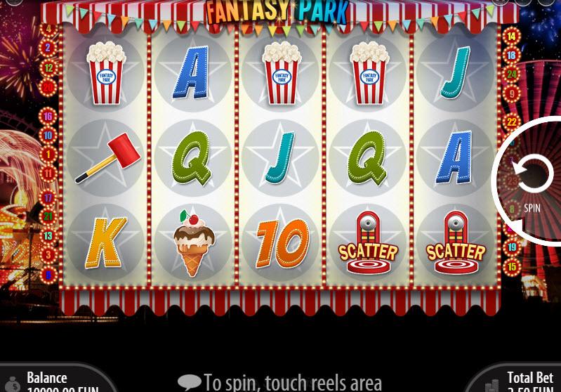 Fantasy Park Video Slots by SoftSwiss MCPcom