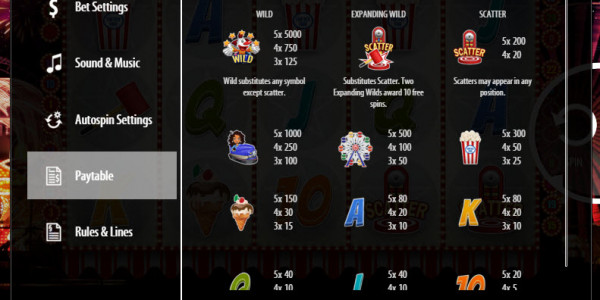 Fantasy Park Video Slots by SoftSwiss MCPcom pay