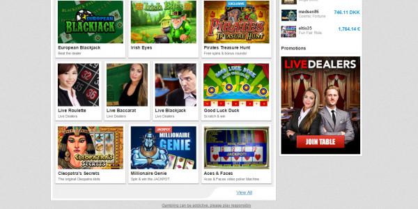 PlayMillion Casino MCPcom games
