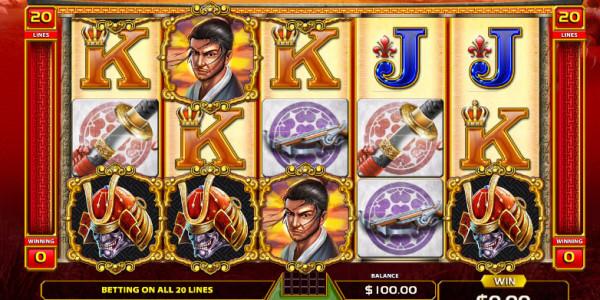 Bushido Code Video Slots by GameArt MCPcom