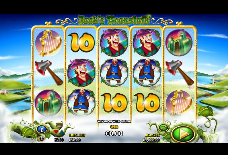 Jack's Beanstalk Video slots by NextGen Gaming MCPcom