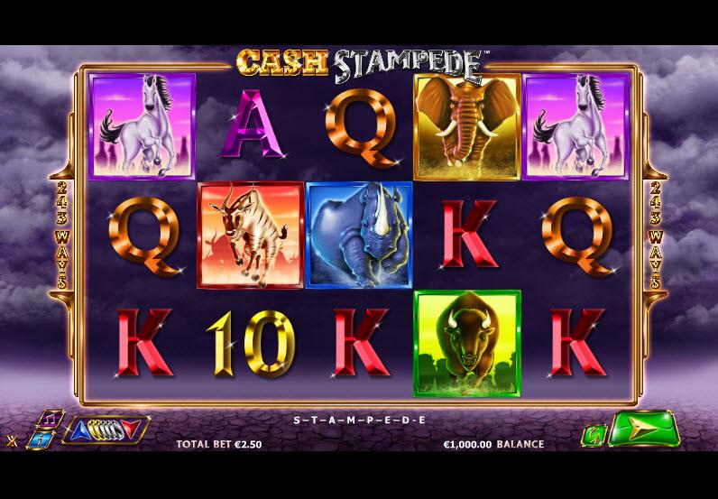 Cash Stampede Video slots by NextGen Gaming MCPcom