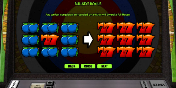 Bullseye — Классический слот от Realistic Games MCPcom pay2