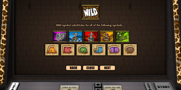 Go Wild on Safari Video Slots by Realistic Games MCPcom pay2
