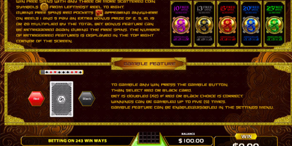 Power Dragon Video Slots by GameArt MCPcom pay2