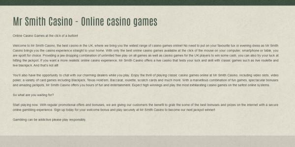 Mr Smith Casino MCPcom 3