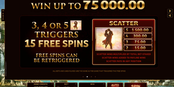 Titans of the Sun — Hyperion Video slots by Microgaming MCPcom pay2